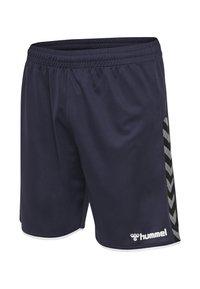 Hummel - Sports shorts - dark blue - 2