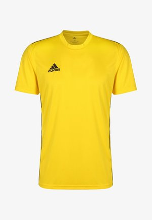 AEROREADY PRIMEGREEN JERSEY SHORT SLEEVE - Basic T-shirt - yellow