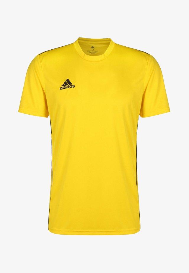 AEROREADY PRIMEGREEN JERSEY SHORT SLEEVE - Basic T-shirt - yellow