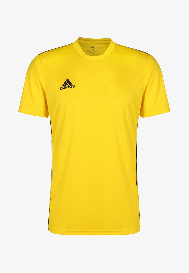 adidas Performance - AEROREADY PRIMEGREEN JERSEY SHORT SLEEVE - T-shirt - bas - yellow