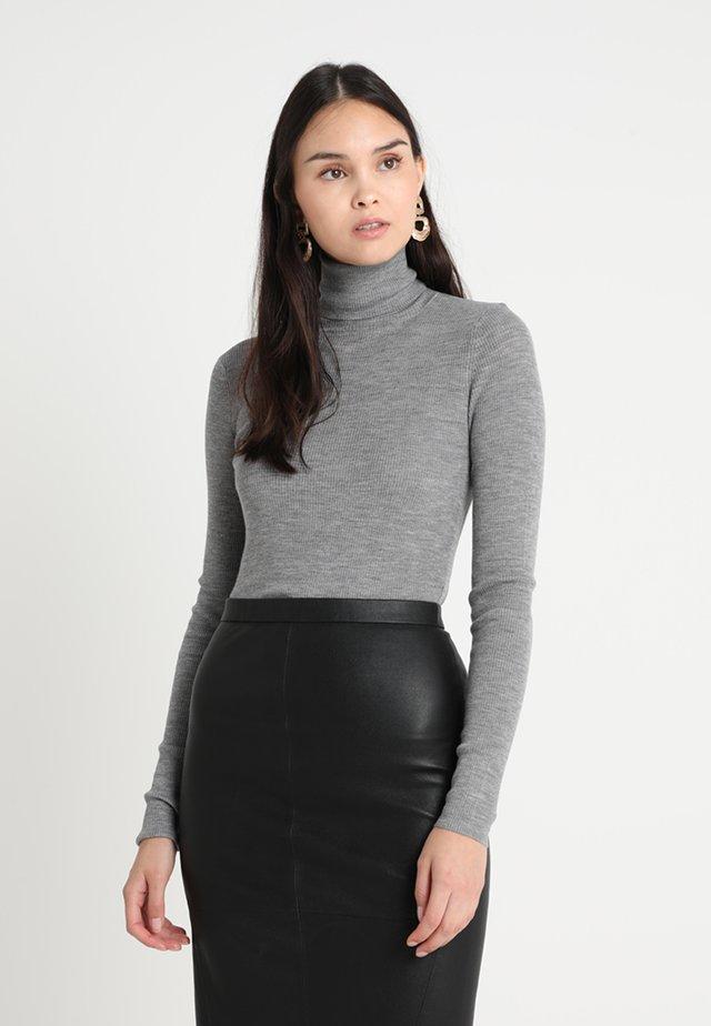 WHITNEY - Long sleeved top - medium grey