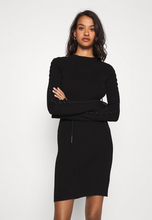 M-JILL DRESS - Etui-jurk - black