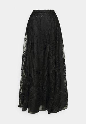 Maxi sukně - black
