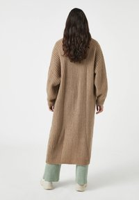 PULL&BEAR - Cardigan - mottled brown - 1