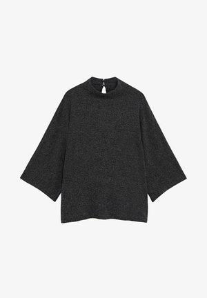 CAROL - T-shirt basic - mörk heather grå