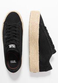 HUB - HOOK - Loafers - black - 3