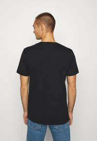 Denim Project - LOGO TEE - T-shirt con stampa - black - 2