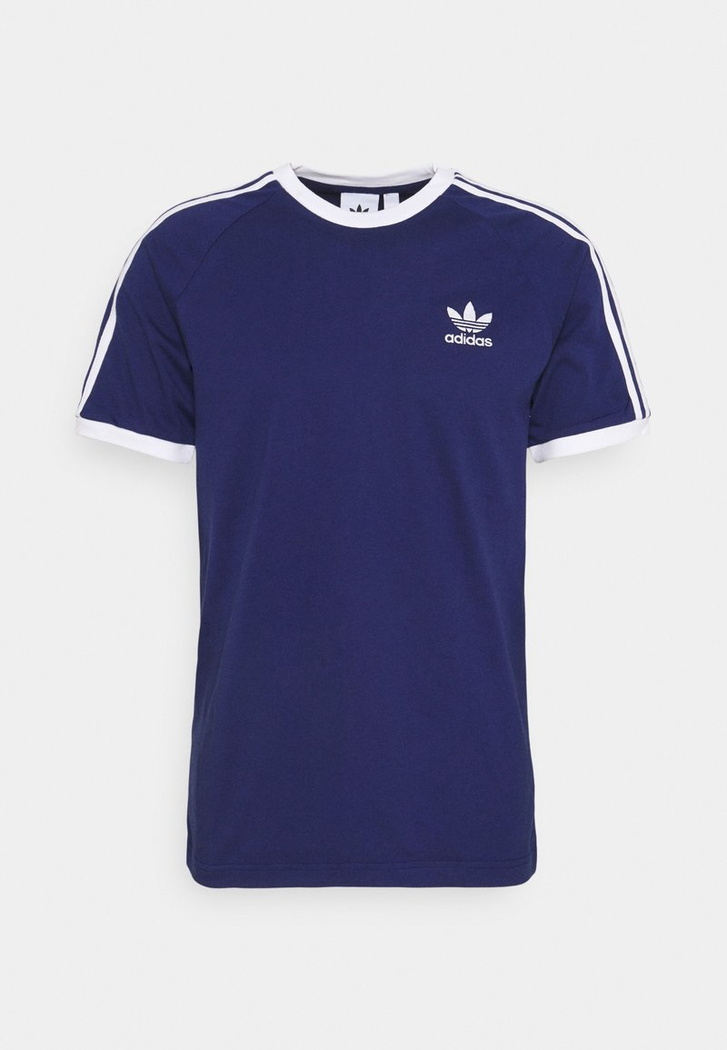 adidas Originals - STRIPES TEE - T-shirt con stampa - night sky