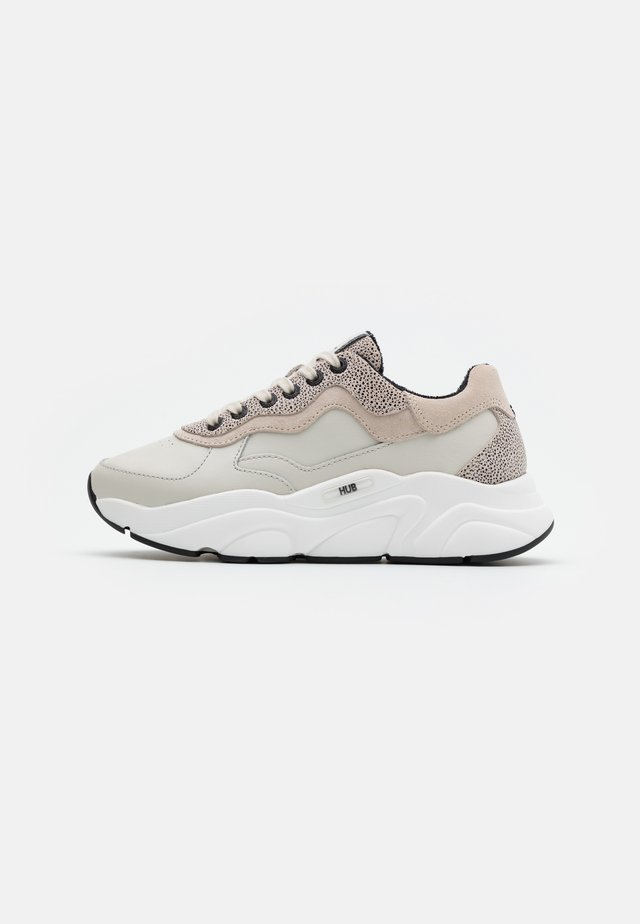 ROCK - Sneakers basse - light bone/vista/offwhite/black