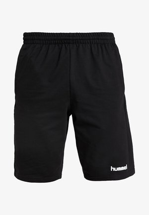 HMLGO BERMUDA - Sports shorts - black