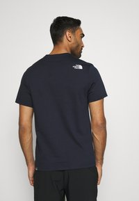 The North Face - MOUNTAIN LINE TEE - T-shirt con stampa - aviator navy - 2