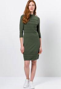 zero - Jumper dress - dark basil - 1
