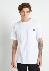 Dickies - PORTERDALE POCKET - Basic T-shirt - white - 0