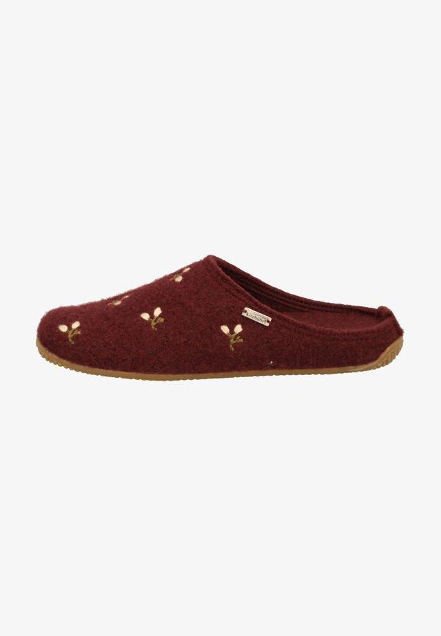 Pantoffels - merlot