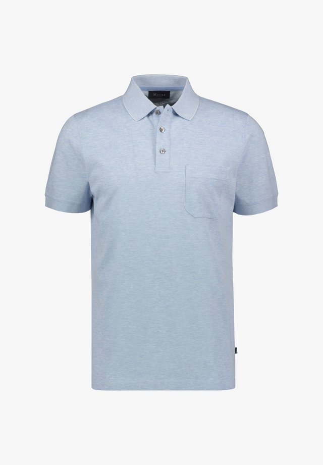 Polo shirt - stoned blue (81)