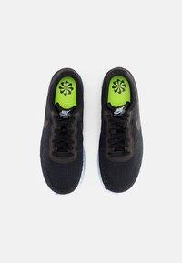 Nike Sportswear - NIKE CRATER - Sneakers laag - black/black-chambray blue - 3