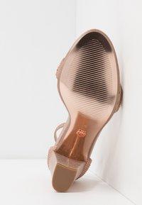 Dorothy Perkins - SHOWCASE SWEET VAMP  - Sandaler med høye hæler - rose gold - 6