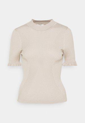 OBJWILLOW PETIT - Print T-shirt - silver gray