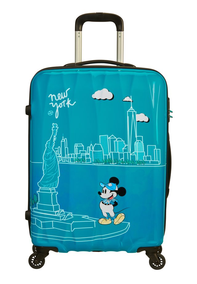 DISNEY LEGENDS ALFATWIST - Wheeled suitcase - take me away mickey nyc