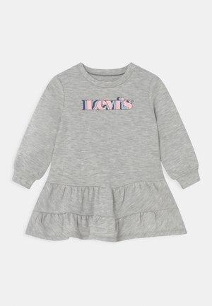 TIEREDDRESS - Day dress - light gray heather