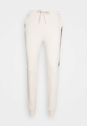 TAPED JOGGER - Trainingsbroek - off white