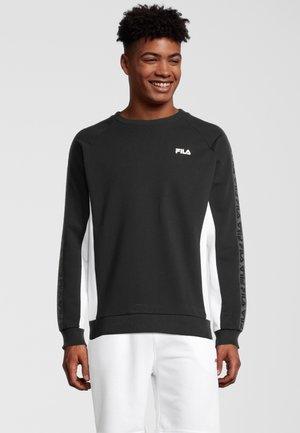 NATAN - Sweater - black bright white