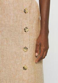 Masai - SACHA - Spódnica ołówkowa  - chipmunk - 5