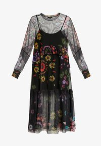 Desigual - VEST PORTLAND - Robe d'été - black - 5