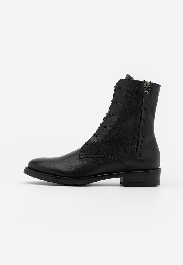 Bottines à lacets - twister nero