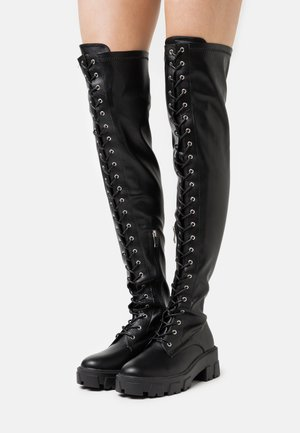 CARLOTA - Over-the-knee boots - black
