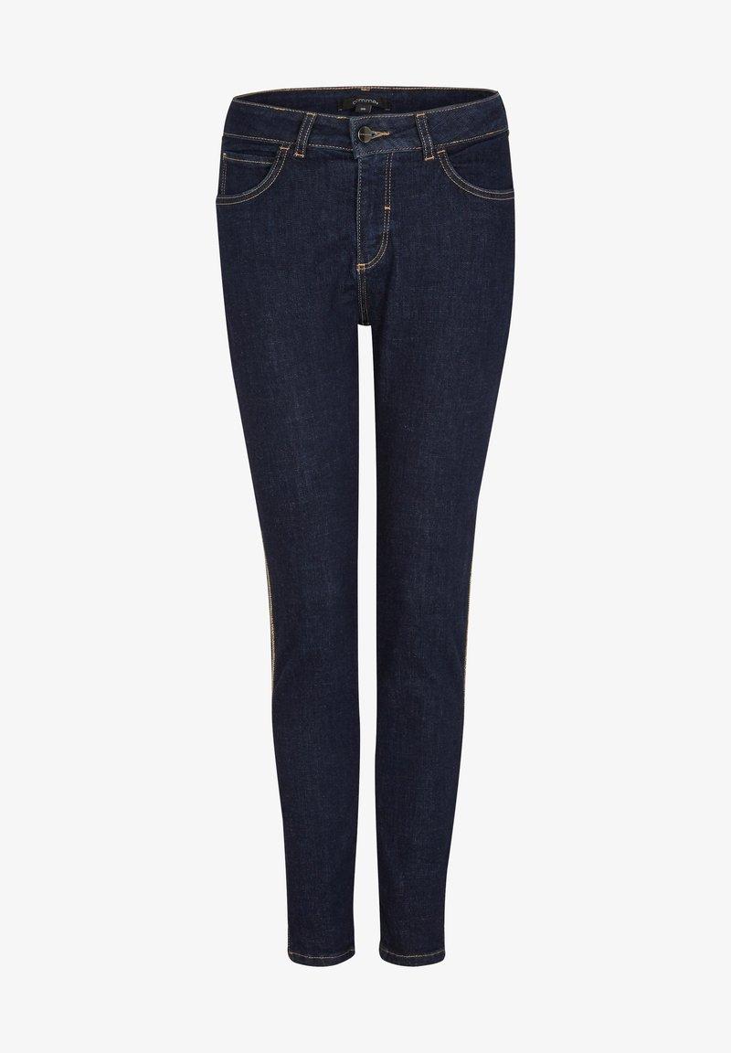 comma - Jeans Skinny Fit - dark blue stretche