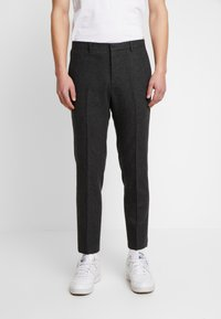 Shelby & Sons - BEMBRIDGE TROUSER - Trousers - charcoal - 0