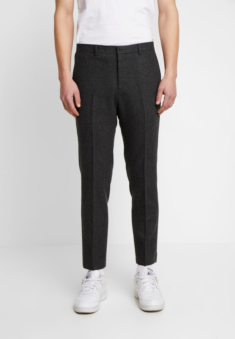 Shelby & Sons - BEMBRIDGE TROUSER - Trousers - charcoal