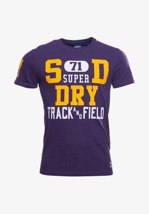 Print T-shirt - lex purple