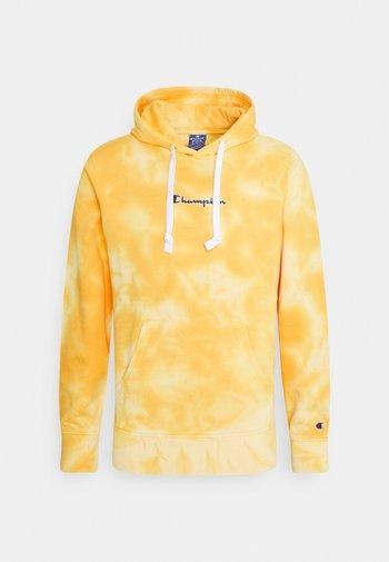 HOODED - Sweatshirt - yellow