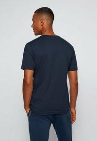BOSS - TEE PIXEL  - Print T-shirt - dark blue - 2