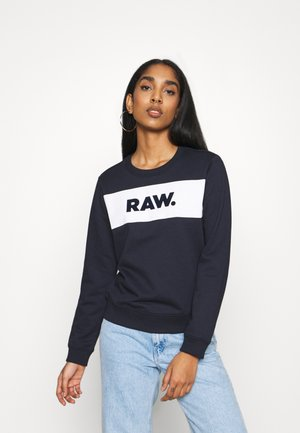 XZULA PANEL - Sweatshirt - mazarine blue