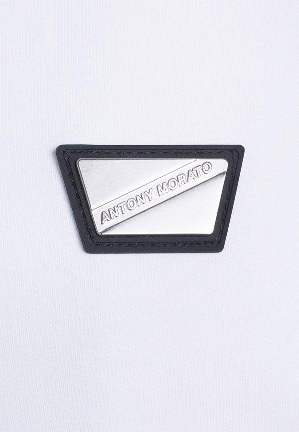 Antony Morato HOODIE SLIM FIT - Bluza rozpinana - bianco/biały Odzież Męska XSIR