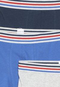 Schiesser - 3 PACK - Culotte - grey/dark blue/royal blue - 4