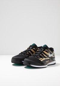 Nike Performance - AIR ZOOM VAPOR X - Allcourt tennissko - wheat/metallic silver/hyper jade/desert ore/black/white - 2