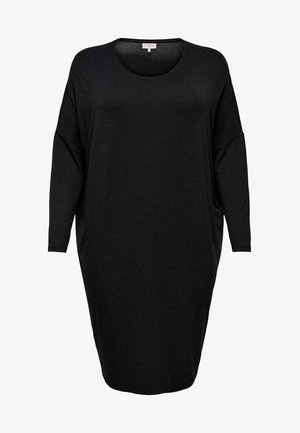 KNIELANGES CURVY - Day dress - black