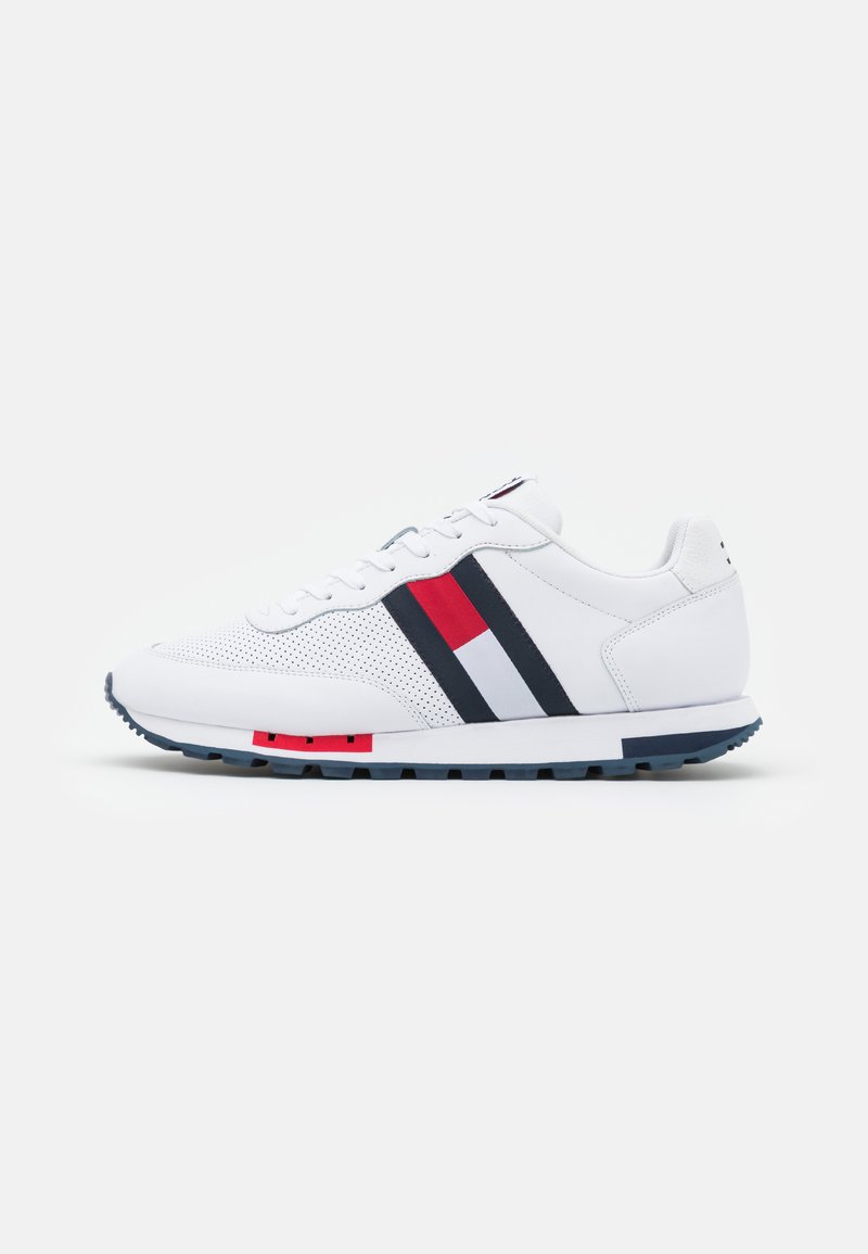 Tommy Jeans - RETRO RUNNER - Trainers - white