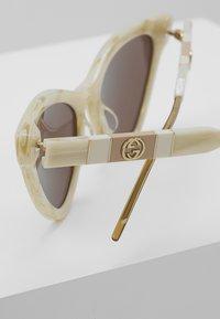 Gucci - Sunglasses - beige/brown - 3