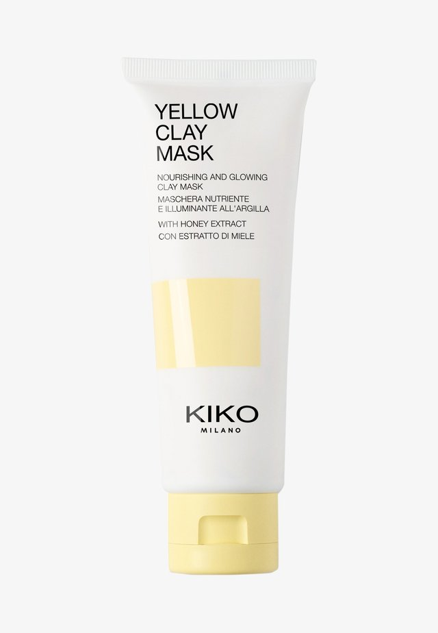 YELLOW CLAY MASK - Ansigtsmaske - yellow