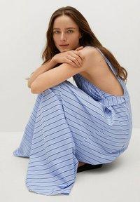 Mango - Maxi dress - blå - 5