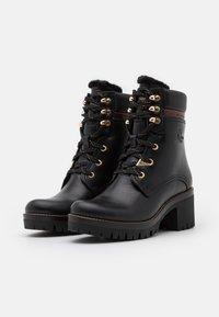 Panama Jack - PHOEBE BROOKLYN - Kotníkové boty na platformě - black - 2