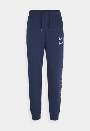 PANT - Tracksuit bottoms - midnight navy/silver