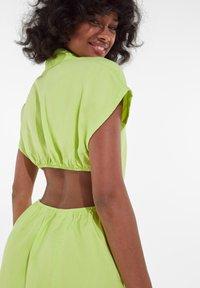 Bershka - Shirt dress - green - 3