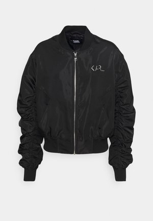 IRIDESCENT JACKET - Bomber Jacket - black