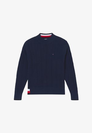 GLOBAL STRIPE  - Sweter - blue